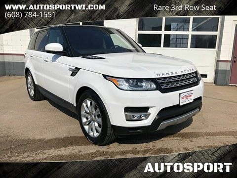 2016 Land Rover Range Rover Sport for sale at AUTOSPORT in La Crosse WI