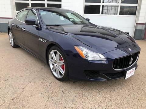 2015 Maserati Quattroporte for sale at AUTOSPORT in La Crosse WI
