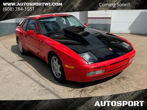 1987 Porsche 944 for sale at AUTOSPORT in La Crosse WI
