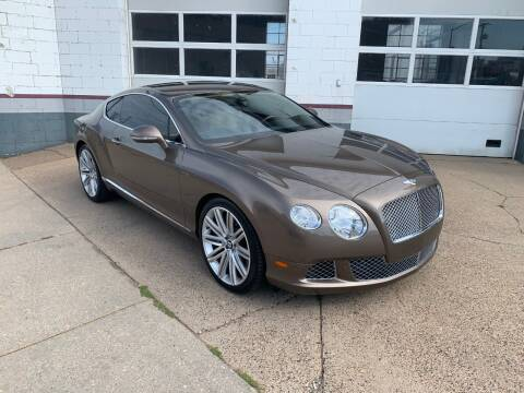 2014 Bentley Continental for sale at AUTOSPORT in La Crosse WI