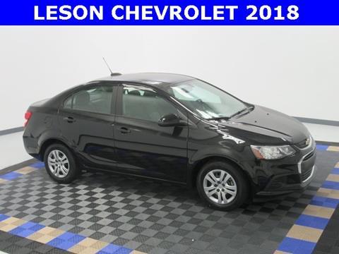 2018 Chevrolet Sonic for sale in Harvey, LA