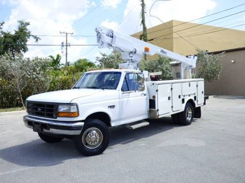 1997 Ford F-450 Super Duty for sale at American Trucks and Equipment in Hollywood FL