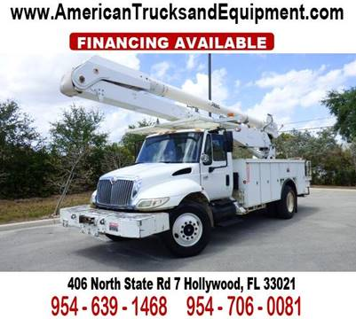 2003 International 4400 for sale at American Trucks and Equipment in Hollywood FL