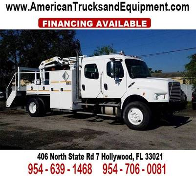 2008 Freightliner Business class M2 for sale at American Trucks and Equipment in Hollywood FL