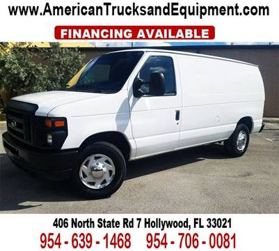 2011 Ford E-Series Cargo for sale at American Trucks and Equipment in Hollywood FL