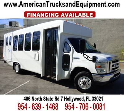 2008 Ford E-450 for sale at American Trucks and Equipment in Hollywood FL