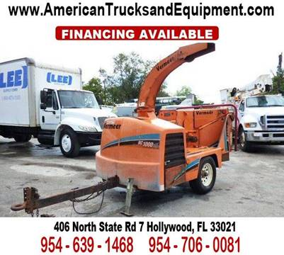 2006 VERMEER BC 1000 XL for sale at American Trucks and Equipment in Hollywood FL