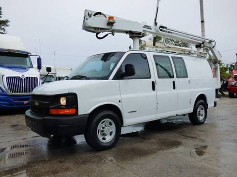 2006 Chevrolet Express Cargo for sale at American Trucks and Equipment in Hollywood FL