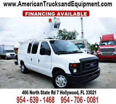 2008 Ford E-Series Cargo for sale at American Trucks and Equipment in Hollywood FL