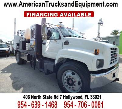 2001 GMC TOPKICK for sale at American Trucks and Equipment in Hollywood FL