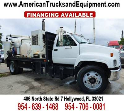 1999 GMC TOPKICK for sale at American Trucks and Equipment in Hollywood FL