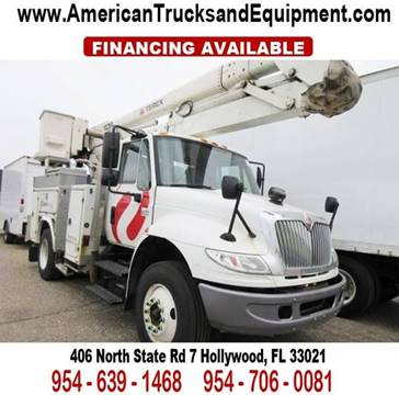 2007 International 4400 for sale at American Trucks and Equipment in Hollywood FL