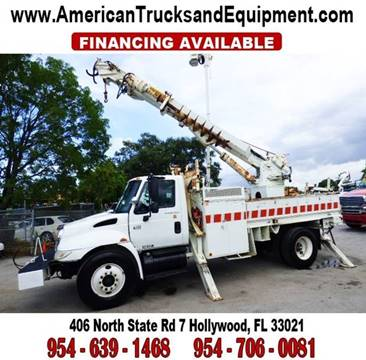 2003 International 4300 for sale at American Trucks and Equipment in Hollywood FL