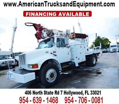 2001 International 4900 for sale at American Trucks and Equipment in Hollywood FL
