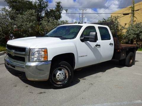 2007 Chevrolet Silverado 3500HD CC for sale at American Trucks and Equipment in Hollywood FL
