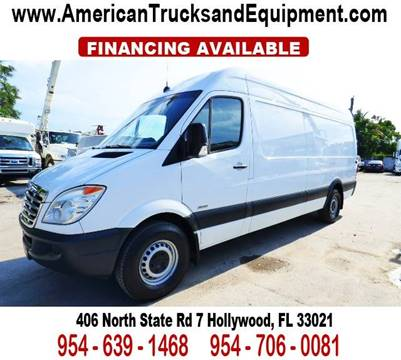 2011 Freightliner Sprinter 2500 for sale at American Trucks and Equipment in Hollywood FL