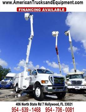 2007 Ford F-750 for sale at American Trucks and Equipment in Hollywood FL