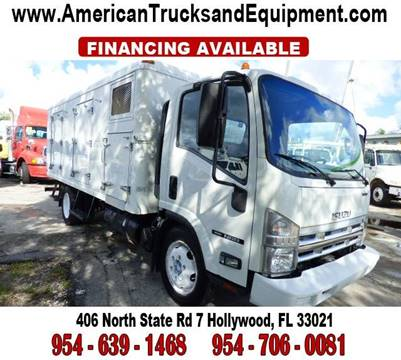 2010 Isuzu NQR / NRR for sale at American Trucks and Equipment in Hollywood FL