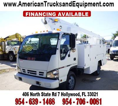 2006 GMC W3500 for sale at American Trucks and Equipment in Hollywood FL