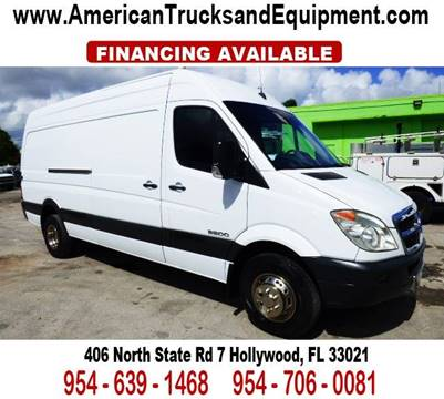 2008 Dodge Sprinter Cargo for sale at American Trucks and Equipment in Hollywood FL