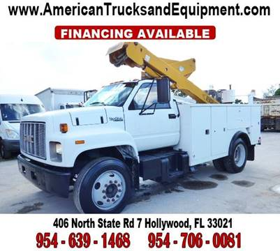 1996 GMC TOPKICK for sale at American Trucks and Equipment in Hollywood FL