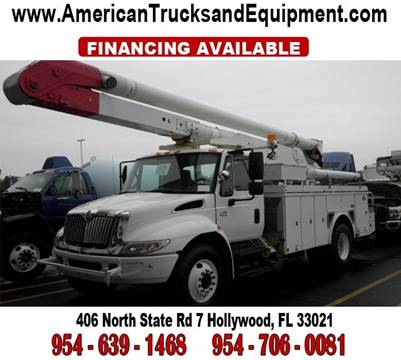 2004 International 4300 for sale at American Trucks and Equipment in Hollywood FL