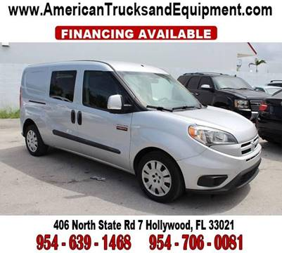 2015 RAM ProMaster City Cargo for sale at American Trucks and Equipment in Hollywood FL