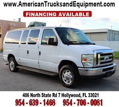 2009 Ford E-Series Wagon for sale at American Trucks and Equipment in Hollywood FL