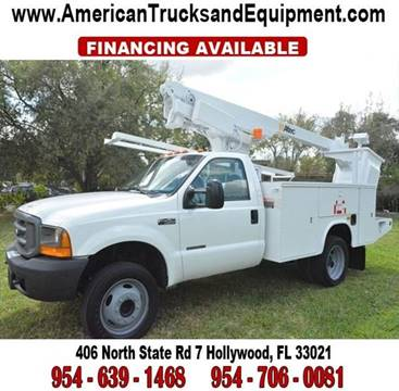 2000 Ford F-450 Super Duty for sale at American Trucks and Equipment in Hollywood FL