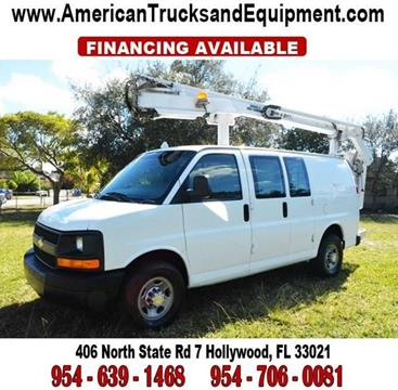 2005 Chevrolet Express Cargo for sale at American Trucks and Equipment in Hollywood FL