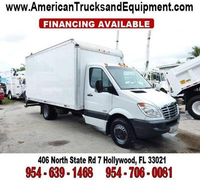 2012 Freightliner Sprinter Cab Chassis for sale at American Trucks and Equipment in Hollywood FL