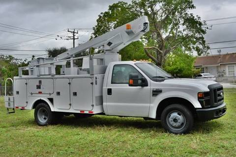 2008 Ford F-350 Super Duty for sale at American Trucks and Equipment in Hollywood FL