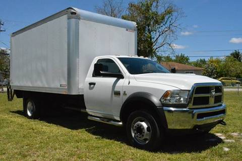 2012 RAM Ram Chassis 5500 for sale at American Trucks and Equipment in Hollywood FL
