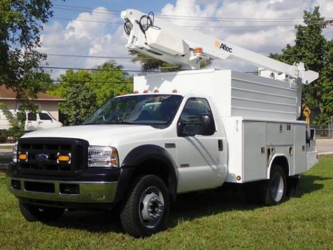 2007 Ford F-450 Super Duty for sale at American Trucks and Equipment in Hollywood FL
