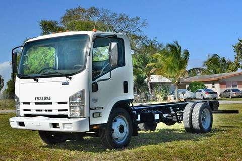 2010 Isuzu NPR for sale at American Trucks and Equipment in Hollywood FL