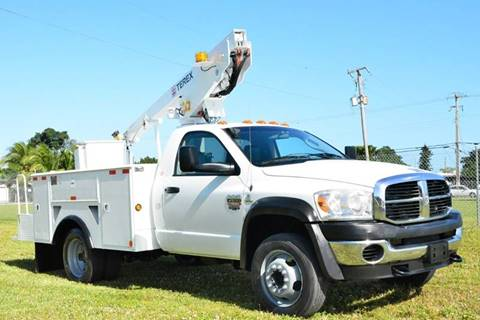 2009 Dodge Ram Chassis 4500 for sale at American Trucks and Equipment in Hollywood FL