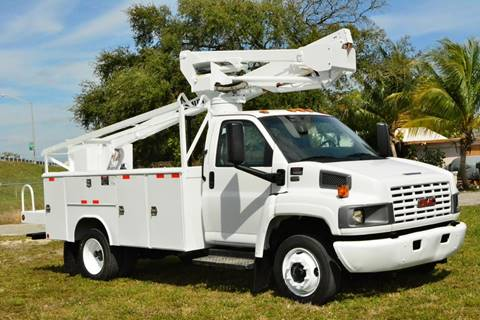 2008 GMC C5500 for sale at American Trucks and Equipment in Hollywood FL