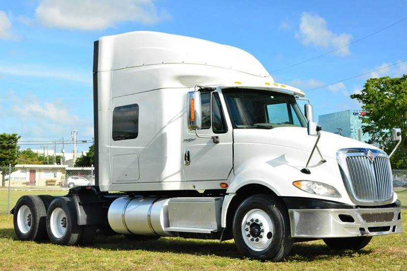 2014 International ProStar+ for sale at American Trucks and Equipment in Hollywood FL