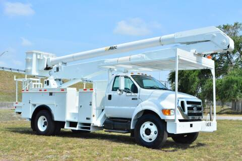2007 Ford F-750 Super Duty for sale at American Trucks and Equipment in Hollywood FL