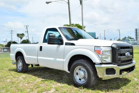 2011 Ford F-250 Super Duty for sale at American Trucks and Equipment in Hollywood FL