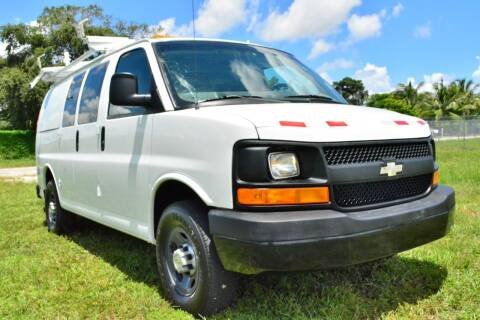2009 Chevrolet Express Cargo for sale at American Trucks and Equipment in Hollywood FL