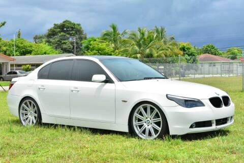 2005 BMW 5 Series for sale at American Trucks and Equipment in Hollywood FL