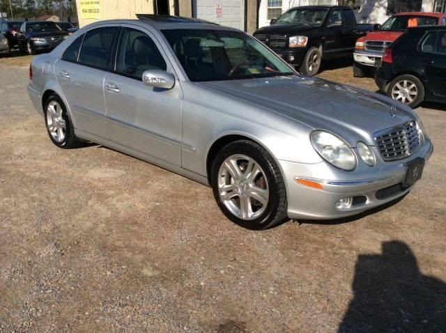 2004 Mercedes Benz E Class For Sale At ABC Cars LLC In Richmond VA