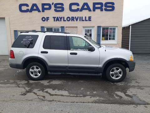 2003 Ford Explorer for sale at Caps Cars Of Taylorville in Taylorville IL