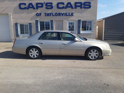 2007 Cadillac DTS for sale at Caps Cars Of Taylorville in Taylorville IL