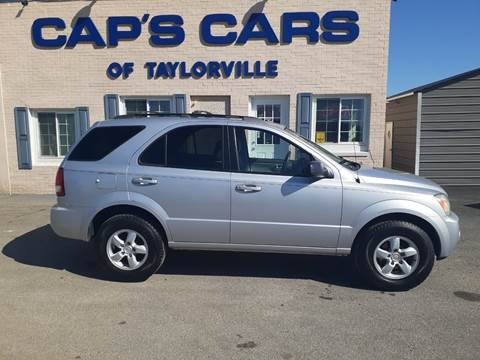 2006 Kia Sorento for sale at Caps Cars Of Taylorville in Taylorville IL