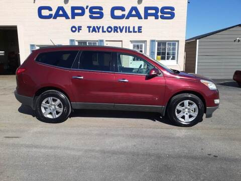 2010 Chevrolet Traverse for sale at Caps Cars Of Taylorville in Taylorville IL