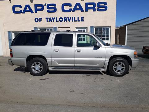 2006 GMC Yukon XL for sale at Caps Cars Of Taylorville in Taylorville IL