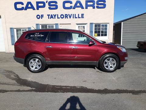 2011 Chevrolet Traverse for sale at Caps Cars Of Taylorville in Taylorville IL