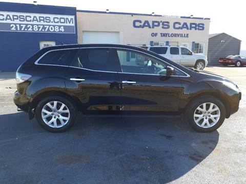 2007 Mazda CX-7 for sale at Caps Cars Of Taylorville in Taylorville IL
